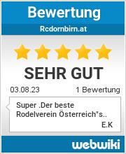 Bewertungen zu rcdornbirn.at