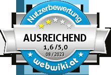 xweb.at Bewertung