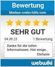Bewertungen zu morbus-crohn-hilfe.com