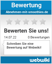 Bewertungen zu abnehmen-mit-smoothies.de