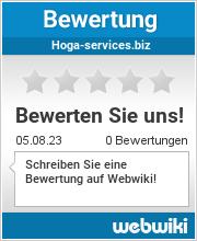 Bewertungen zu hoga-services.biz