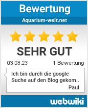Bewertungen zu aquarium-welt.net