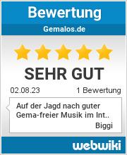 Bewertungen zu gemalos.de